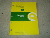 John Deere 410 440 loader operator's manual