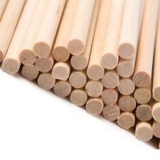 "100 round wooden lolly lollipop sticks food craft use 89mm x 4mm 3.5"" inch"
