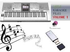 MIDI File Karaoke USB stick for PSR 3000 Vol 1
