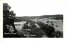 Vintage Real Photo PC; Vacation Land, Hunt, Texas Kerr County