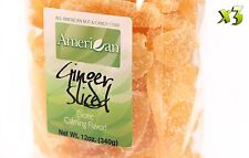 36oz Gourmet Style Bags of Crystallized Ginger Slices [2 1/4 lbs.]