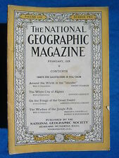 National Geographic Magazine February 1928 Vintage Ads Car Truck Advertising