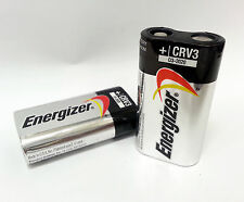 Energizer CRV3 3V Lithium Photo Batteries, 2ct Package