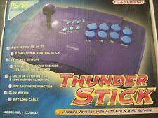 Thunder Arcade Stick Sega Saturn Playstation PSX PS1 PS2 Joystick Turbo fire