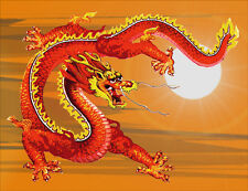 Chinese Sky Dragon Fridge Magnet - Fantasy/Myth