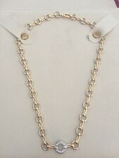3a550fe02fda7b Cartier 750 18K Gold Diamond Chain Necklace Choker RARE Numbered Travel Bag