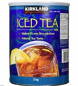 ICED TEA - ICED TEA MX - 3KG Tin - Summer Drink ice Tea-  BB 2022 Bulk Buy  re