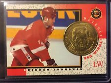 Brendan Shanahan 1997-98 Pinnacle Mint Die-Cut Card with Brass Coin #6