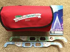 Disney Osborne Spectacle of Dancing Lights 2015 Dessert Party Blanket Glasses