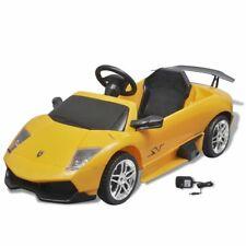 vidaXL Elektrische Auto Lamborghini Murcielago Geel Speelgoedauto Kinderauto