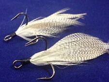 Xmarks Custom Feathered Trebles Mustad KVD Triple Grip Size 4 Fish Tail