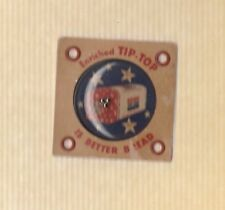 1951 Tip-Top Bread Toy Tin Puzzle Ball Game Great Condition Rare! Product Insert