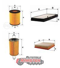 Set L: Kraftstofffilter+Ölfilter+Innenraumfilter+Luftfilter Filtersatz NISSAN
