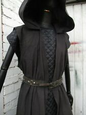 Medieval tunic surcoat Re enactment LOTR Vikings hooded tunic coat