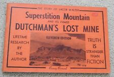 1963 vintage Superstition Island Lost Dutchman's Mine bklt gold mining Barnard