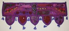 New Patchwork Sequin Toran Wall Hanging - Hippy Fairly Traded Ethnic Boho India