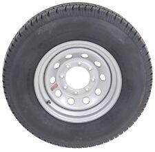 """Radial Trailer Tire On Silver Rim ST235/80R16 LRE (8 Lug On 6.5"""") Modular Wheel"""