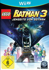 LEGO Batman 3 - Jenseits von Gotham (Nintendo Wii U, 2014, DVD-Box) NEU OVP