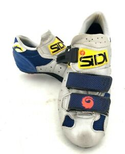 Sidi Airplus Blue Buckle Cycling Athletic Shoes Size 37 EU 7 US