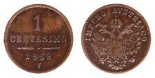1 CENTESIMO 1852 VENEZIA FRANCESCO GIUSEPPE I 1848-1916 IMPERO AUSTRIACO #6183A