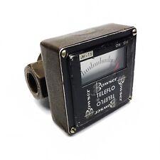 """Bowser Teleflo 815BC 3/4"""" Bronze Flow Indicator"""