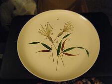 Duncan Hines by Stetson Mid Century Modern Handpainted Design Dinner Plate