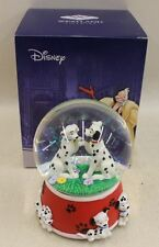 BNIB WESTLAND DISNEY 101 Dalmatians In Love Musical Snowglobe Cruella De Vil 228