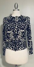 LORD & TAYLOR Women's 100% Cashmere Button Down Cardigan Sweater Size L Petite