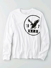 AMERICAN EAGLE OUTFITTERS Graphic Long Sleeves T-Shirt Large *BNWT* Tee