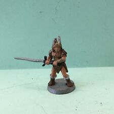 Oop Ral Partha 11-001 Male Fighter with 2-Handed Sword