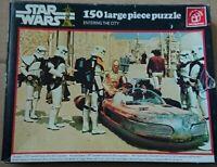 Vintage Waddingtons Star Wars Entering The City 150 PC Jigsaw Puzzle