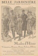 J0737 Belle Jardinière - Vetements pour Dames - Pubblicità d'epoca - 1918 Old ad