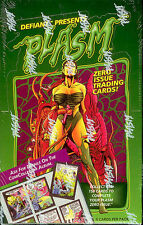 PLASM ZERO ISSUE 36 PACK SEALED TRADING CARD BOX! DEFIANT COMICS/RIVER GROUP