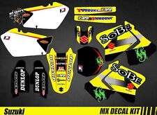Kit Déco Moto / Mx Decal Kit Suzuki RM 125 / 250 - Sobe
