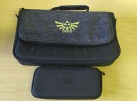 Nintendo Switch Travel Legend Of Zelda Everywhere Messenger Bag w/ zelda case