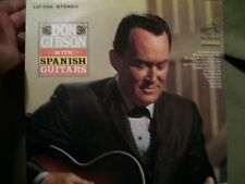 DON GIBSON WITH SPANISH GUITARS RECORD 1966 RCA VICTOR LSP-3594