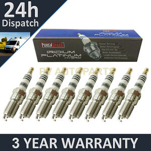 8X IRIDIUM TIP SPARK PLUGS FOR JAGUAR S-TYPE R 4 2 V8 2002-2007