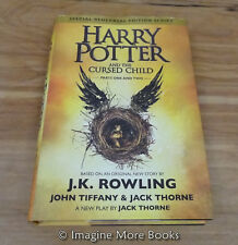 Harry Potter and the Cursed Child, Parts 1 & 2 by J.K. Rowling ~ Hardcover