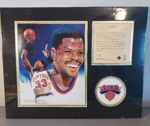 1995 KRSI Patrick Ewing 11x14 Limited Edition Matted Art Print Litho  #/12,500