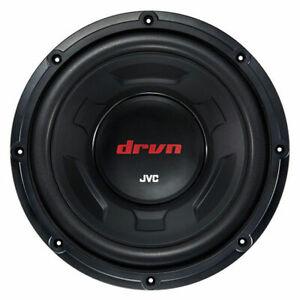 """JVC CW-DR124 12"""" 350W RMS DRVN Tough Single 4 ohm Car Audio Subwoofer"""