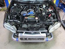 "CX 31""x12""x4"" Front Mount Intercooler kit For 93-02 Camaro LT1 LS1 Single Turbo"