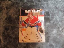 patrick roy  (montreal canadians-goalie) 1991/92 pro set card #613 nr/mint