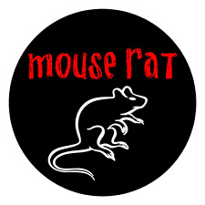 Parks and Rec Recreation Mouse Rat Laptop Sticker