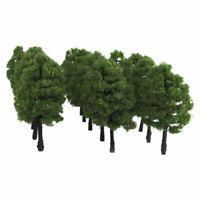 20PCS Model Trees Train Railroad Diorama Wargame Park Scenery HO OO Scale- 1:100
