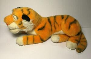 "Vintage Shere Khan Tiger Disney Jungle Book Plush - Stuffed Animal 17"" Long"