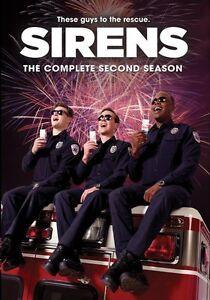 SIRENS  : THE COMPLETE SEASON 2  Region Free DVD - Sealed
