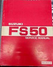 Suzuki FS50 OEM Service Manual