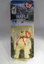 Maple The Bear 1997 McDonald's TY Beanie Baby With Tag Errors C2804