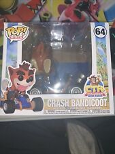 Funko Pop! Rides #64 Crash Bandicoot Crash Team Racing
