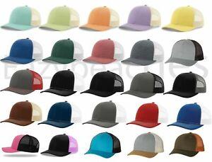 Brand New - Richardson, Trucker, Baseball Cap, Meshback Hat, Snapback Cap, 115